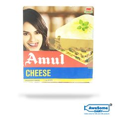 Now Shop For Amul Cheese Online on Awesome Dairy, Quick Shipping in Mumbai, Amul Processed Cheese Block Price Slashed, Cash on Delivery Available. Cheese Online, Block Of Cheese, Milk Products, Eating Alone, Beverage, Vegetarian, India, Baking, Nature