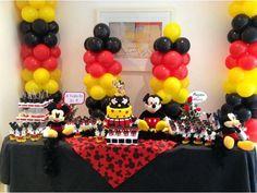 decoração mickey - Pesquisa Google