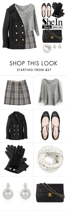 """""""Winter"""" by severo ❤ liked on Polyvore featuring Burberry, Balmain, Miu Miu, Ted Baker, Echo, Chanel, women's clothing, women, female and woman"""