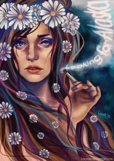 lalaloor:  Looking for Alaska by LooraeI hope you enjoy my adaptation of Alaska Young! Looking for Alaska has always been a very important and personal book to me. Please visit my deviantart to read why!