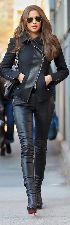 Irina Shayk Chic & Casual looks are always a great inspiration!!
