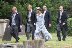 The newlyweds arrived hand-in-hand for the wedding in Lincolnshire yesterday...
