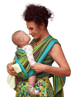 71f8b8a173e Ellevill Wrap Baby Carrier - Zara Linen Green (tri-green) Ellevill