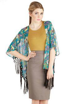 Breeze Toward the Bungalow Jacket, #ModCloth