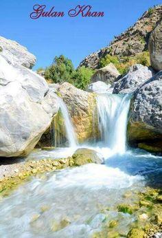 Beautiful,Hernai,Waterfal,Blochistan,Pakistan