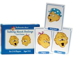 Berenstain Bears Talking About Feelings Card Game $23.95