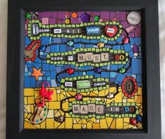 Trust with all your heart....by TileMosaicGirl.com