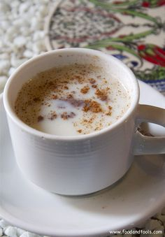 Hot Turkish Wintertime Drink – Salep | Food and Tools
