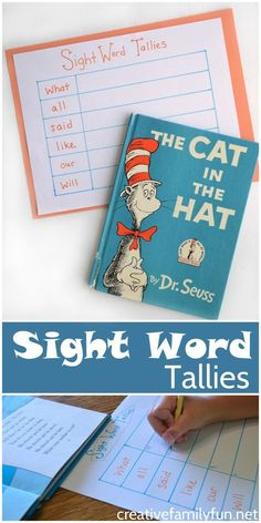 and Tally Sight Words Activity Help your child learn to recognize sight words with this fun Sight Word Tallies learning game.Help your child learn to recognize sight words with this fun Sight Word Tallies learning game. Teaching Sight Words, Sight Word Practice, Sight Word Activities, Literacy Centers, Baby Activities, Sight Word Centers, Fun Reading Games, Reading Practice, School