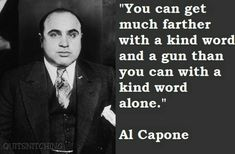 Not condoning or suggesting violence in any way, but amazing quote