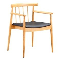 The Thin Dining Arm Chair is practical enough to blend in with any table you have. It is simply designed with vertical bars on the chair back and a padded black PU seat. It is a strong and comfortable chair. Modern Dining Chairs, Dining Arm Chair, Dining Room Chairs, Side Chairs, Dining Tables, Bar Furniture, Furniture Deals, Office Furniture, Diy Chair