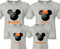 Disney halloween shirts for adults family matching designs of mickey shirt Disney World Halloween, Disney Halloween Shirts, Mickey Halloween, Disneyland Shirts, Disneyland Trip, Family Halloween, Disneyland Mickey's Halloween Party, Disney Trips, Scary Halloween