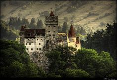 Vlad's castle... Romania....visited there November last year and it was lightly snowing when we were there!