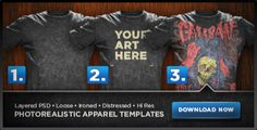 Great site to mockup t-shirt designs, save, and print the design, looks realistic, fun and easy to do