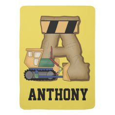 Anthony's Personalized Gifts Receiving Blanket