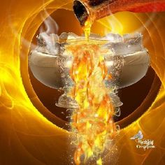 """""""And the smoke of the incense, which came with the prayers of the saints, ascended up before God ..""""Revelation 8:4"""