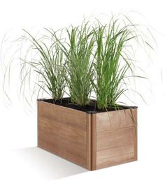 Marwood Base Modular Trough Planter - Create a stunning feature in your outdoor space with this fabulous new range of modular planters - ideal for growing everything from flowers to vegetables. Mix and match this unit with additional items from the range to create a unique display. (H:410mm W:900mm D:450mm)