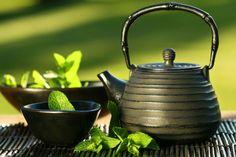 Przepisy leczniczych herbat.