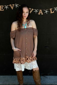 REVIVAL Upcycled Bohemian Dress/Tunic
