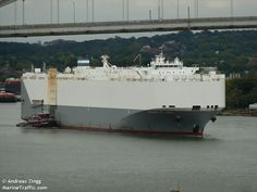 American Car Carrier Alliance St. Louis Adrift in Gulf of Mexico After Fire