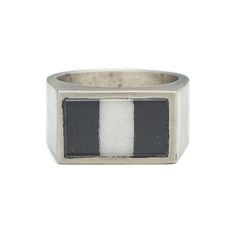 NEW George Frost Tango Flag Ring from the SS16 Sportif Collection