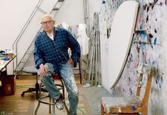 """The Artist's Studio: Ellsworth Kelly"" (SMFA Dip '48) // Vanity Fair // Article by Karen Wright, Photograph by Annie Leibovitz"