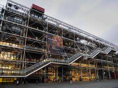 Galeria de Clássicos da Arquitetura: Centro Georges Pompidou / Renzo Piano + Richard Rogers - 1