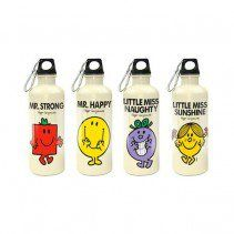 Mr Men Stainless Steel Water Bottles 600ml