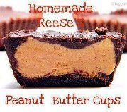 Home-made 'Reese's' Peanut Butter Cups  For recipe:  https://www.facebook.com/photo.php?fbid=436492359721324&set=a.475293405841219.93117.432606490109911&type=3&theater  http://www.pamperedchef.biz/labritta
