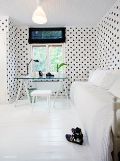 PAPER + SPACE: designed: black and white