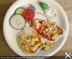 Mais-Käse-Puffer Für Kinder ab 10-12 Monaten