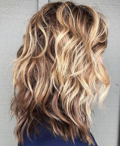 60 Best Variations of a Medium Shag Haircut for Your Distinc.- 60 Best Variations of a Medium Shag Haircut for Your Distinctive Style Shoulder-Length Wavy Layered Hair with Highlights - Long Hair With Bangs, Haircuts For Long Hair, Cool Haircuts, Thin Hair, Wavy Hair With Layers, Long Layered Hair Wavy, Long Shag Hairstyles, Medium Layered, Latest Hairstyles