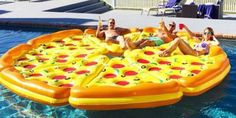 8 Piece Complete Pizza Pool Float Set This is the ultimate pool float for your next pool party. The complete pizza pie! Includes eight slices of pizza Summer Goals, Summer Of Love, Summer Fun, Pizza Pool Float, Structures Gonflables, Pool Floats, Pool Toys, Photos Of The Week, Cool Pools