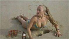 Weird Funny at the beach