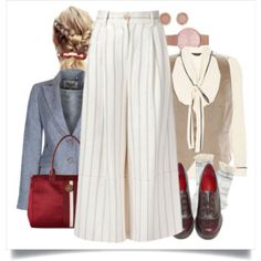 my work day with Culottes