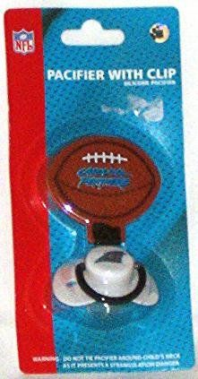 NFL Carolina Panthers Baby Pacifier with Clip $9.00 for when he's older