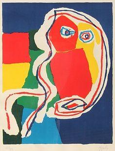 Karel Appel, Untitled (Visage)