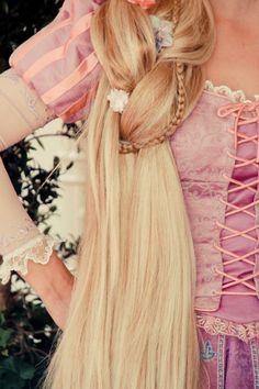 My future job: Rapunzel Face Character at Disney