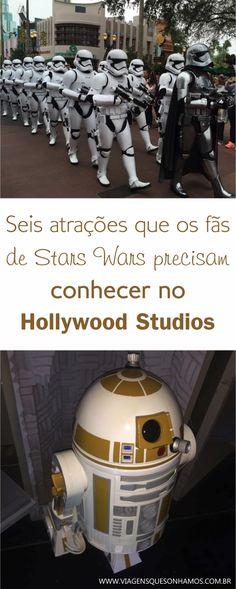 Star Wars Hollywood Studios Parques Disney Orlando