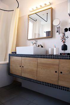 Salle de bain chez Emilie et Guillaume Montreuil