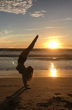 Bella the dancer enjoying the sunset!