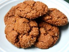 alice medrich gingersnaps -- will be making these this week for holiday gifts. I don't have candied ginger, so I'll be making it myself: http://www.foodnetwork.com/recipes/alton-brown/candied-ginger-recipe/index.html