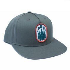 24db9988556ef Pacific Northwest Flatbill Cap Merica Clothing