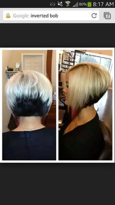 Inverted bob° on Pinterest | Inverted Bob, A Line Bobs and Inverted ...