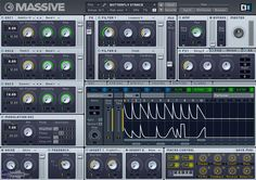 SYNTH hybride - Native Instruments Massive
