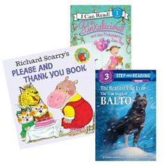 Books for boys and girls age 2-4