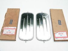 Vintage Nos Delbar West Coast Mirrors Stainless Steel Chevy Gmc Ford Dodge Truck