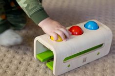 montessori for babies...we have this toy and it's great!