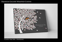 Wedding Guest Book Alternative  Thumbprint by WeddingTreeGuestbook, $99.00