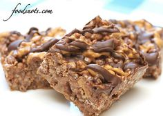 Reeses Chocolate Peanut Butter Rice Krispie Treats by Recipe Snob, via Flickr